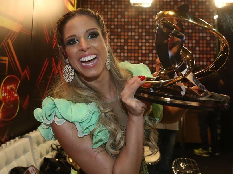 Raquel Guarini, campeã da Dança dos Famosos 2014