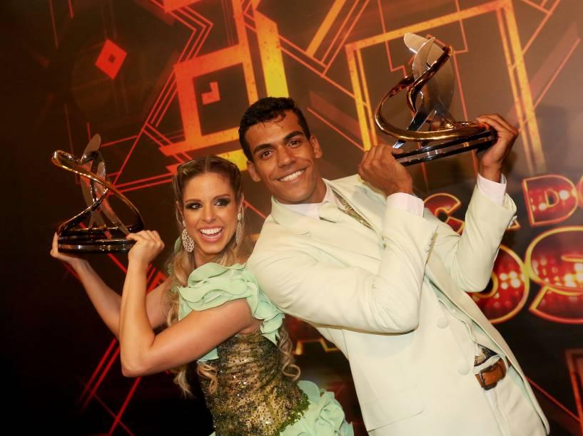 Marcello Melo Jr. e Raquel Guarini campeões da Dança dos Famosos 2014