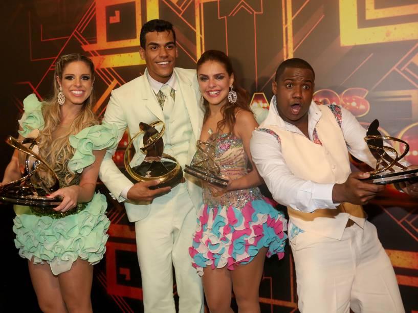 Bastidores da final da Dança dos Famosos 2014