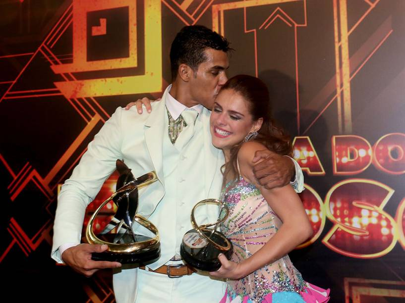 Marcello Melo Jr. e Paloma Bernardi, finalistas da Dança dos Famosos 2014