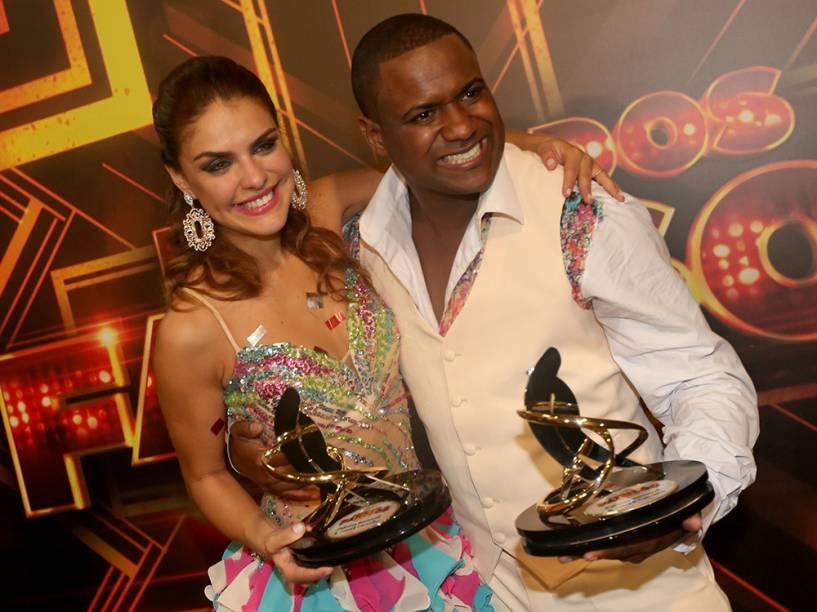Paloma Bernardi e Patrick Carvalho, vice campeões da Dança dos Famosos 2014