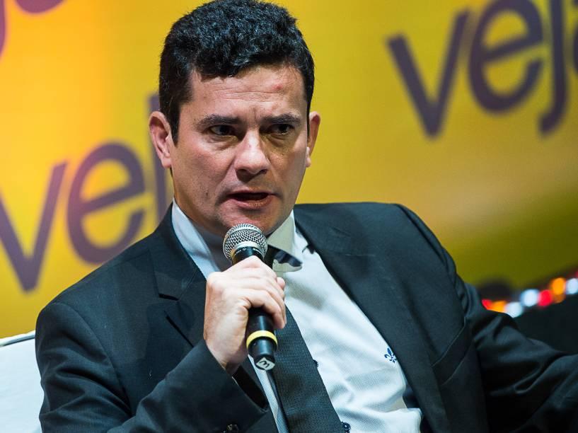 """Juiz Sergio Moro participa do Fórum Veja - """"O Brasil que temos e o Brasil que queremos"""" - 23/05/2016"""