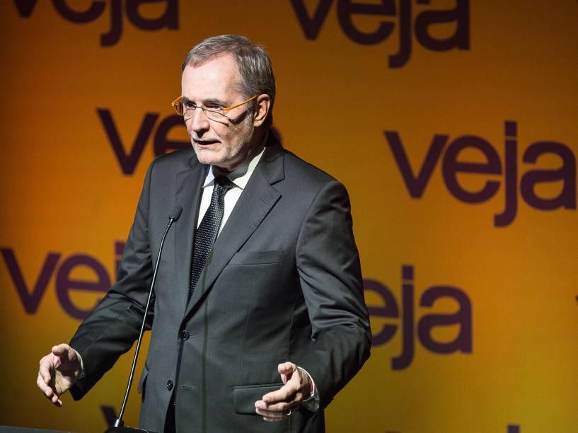 """Valter Longo comparece ao Fórum Veja - """"O Brasil que temos e o Brasil que queremos"""", no Teatro Santander em São Paulo - 23/05/2016"""