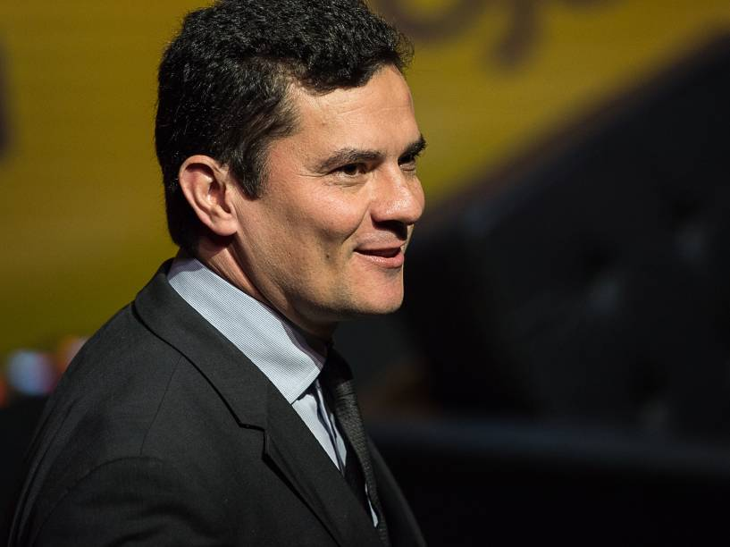 """Juiz Sergio Moro participa do Fórum Veja - """"O Brasil que temos e o Brasil que queremos"""", no Teatro Santander em São Paulo - 23/05/2016"""