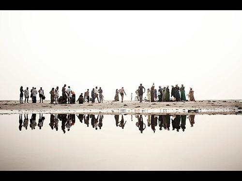 Ganges, Death of a River, fotografia de Giulio di Sturco, da Itália