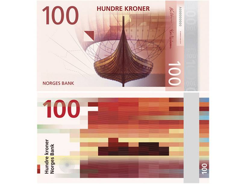 """Norges Bank new banknotes """"The Sea"""""""