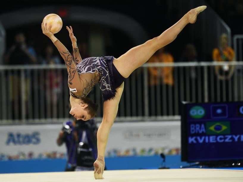 Equipe brasileira estará representada nas provas individuais e de conjunto