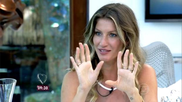 Gisele Bündchen no Mais Você, programa de Ana Maria Braga na Globo
