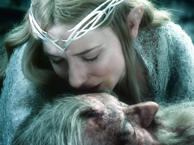 Cena do filme O Hobbit: A Batalha dos Cinco Exércitos