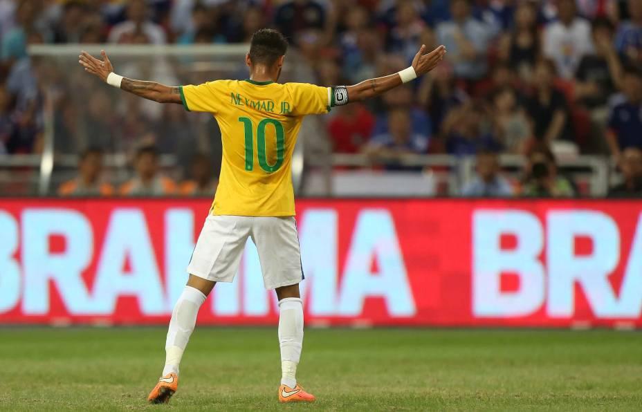 A Fifa anuncia a lista dos 23 jogadores indicados para o prêmio Bola de Ouro de 2014. O atacante Neymar, do Barcelona, é o único brasileiro na relação