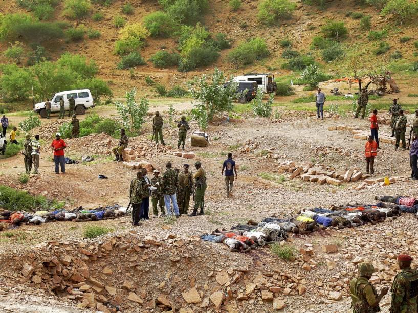 Um novo ataque da milícia islâmica Al Shabab deixou ao menos 36 mortos em uma pedreira em Korome, perto da cidade de Mandera, no nordeste do Quênia