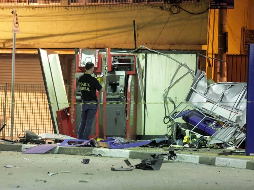 Pelo menos três caixas eletrônicos foram explodidos por bandidos no bairro da Casa Verde, zona norte de São Paulo, na madrugada desta sexta-feira (19/12). Segundo a Polícia, não há informações sobre a quantia levada