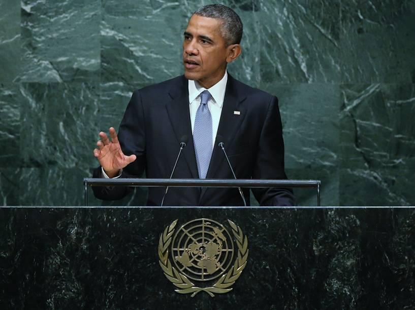 O presidente americano, Barack Obama, pediu nesta segunda-feira que o Congresso levante o embargo de seu país contra Cuba, durante a Assembleia Geral das Nações Unidas