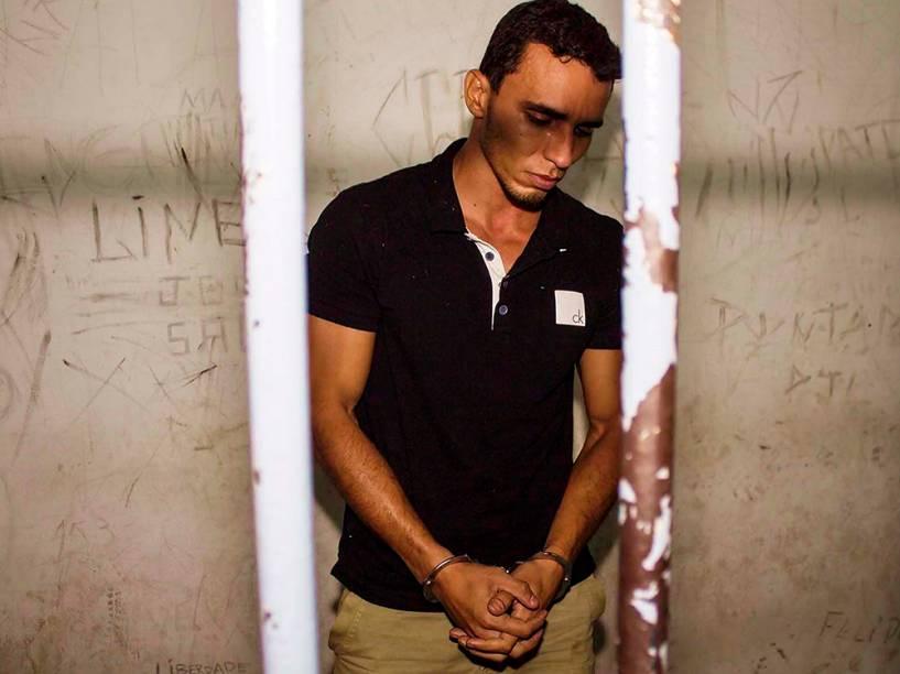 Anderson Rodrigues Leitão, que confessou ter matado sua ex- namorada, a  dançarina Ana Carolina Vieira, de 30 anos, que foi  encontrada morta em seu apartamento no Sacomã