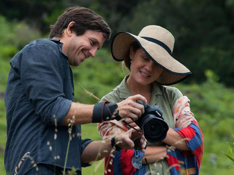 Vladimir Brichta e Adriana Esteves atuam juntos após mais de dez anos em Real Beleza