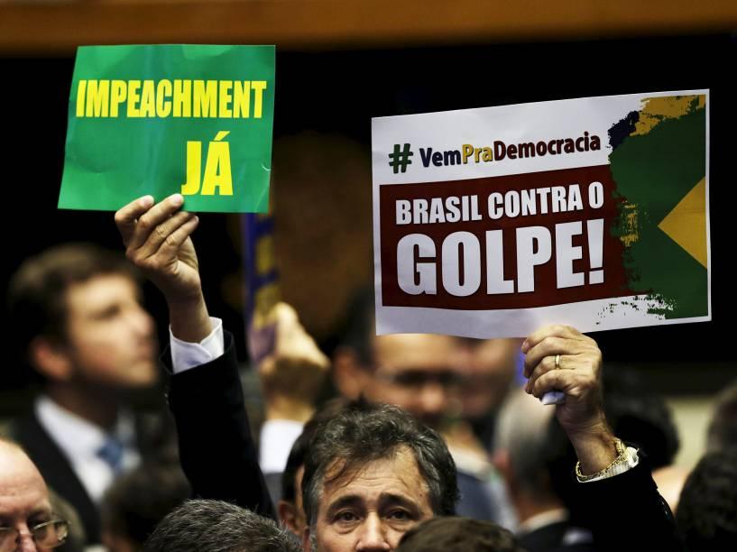 Sessão da Câmara dos Deputados para votar o pedido de Impeachment da presidente Dilma Rousseff - 17/04/2016