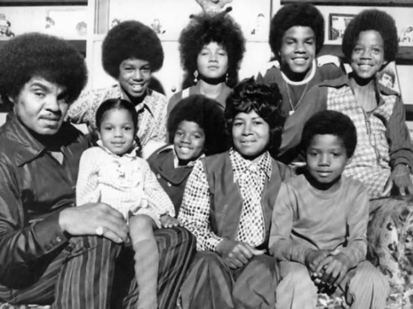 Joe Jackson e a família