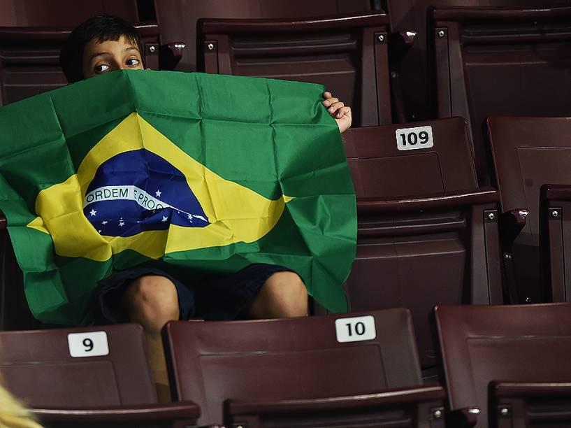 Público durante a competição de judô do Brasil em Toronto