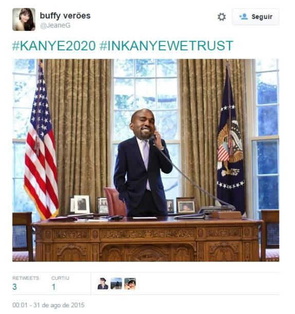 Kanye West na Casa Branca