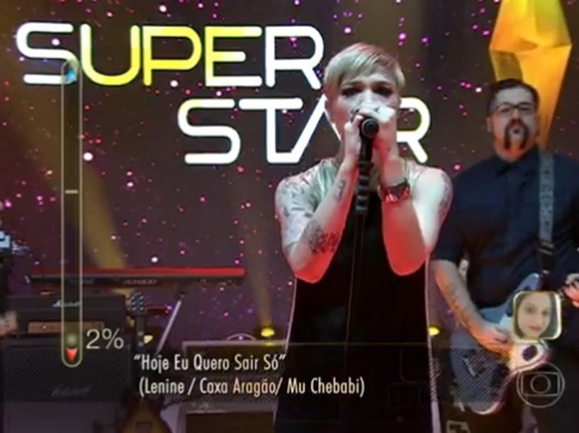 A banda Kita no SuperStar foi a única que escolheu Sandy como madrinha no segundo dia de audições
