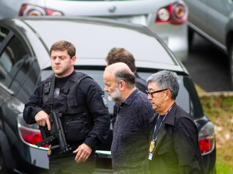 O juiz Sérgio Moro autorizou a transferência do ex-tesoureiro do PT João Vaccari Neto, do ex-deputados André Vargas (ex-PT), Luiz Argôlo (SD) e Pedro Corrêa (PP)