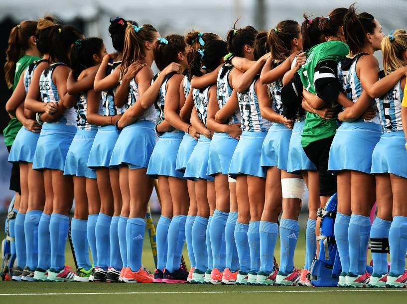 As Leonas, como são conhecidas as jogadoras da seleção argentina de hóquei sobre a grama