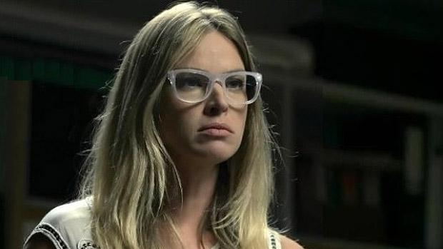 A atriz e modelo Letícia Birkheuer: tudo o que ela veste vira sonho
