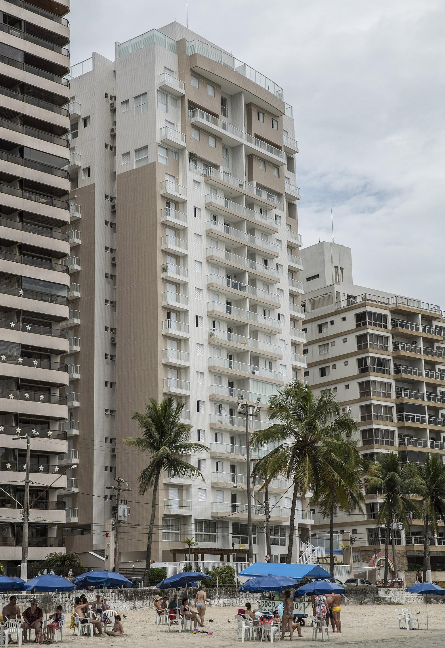 Apartamento de Lula no Guarujá