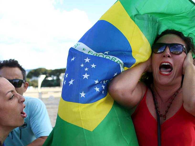 Movimentação após nomeação do ex-presidente Luiz Inácio Lula da Silva para o Ministério da Casa Civil, em Brasília (DF)