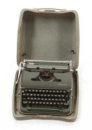 Máquina de escrever que apareceu em cenas de 'Mad Men' e que será leiloada pelo ScreenBid
