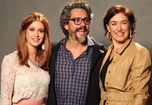 'Império': Alexandre Nero é o protagonista José Alfredo, casado com Maria Marta (Lilia Cabral) e amante da ninfeta Maria Ísis, papel de Marina Ruy Barbosa