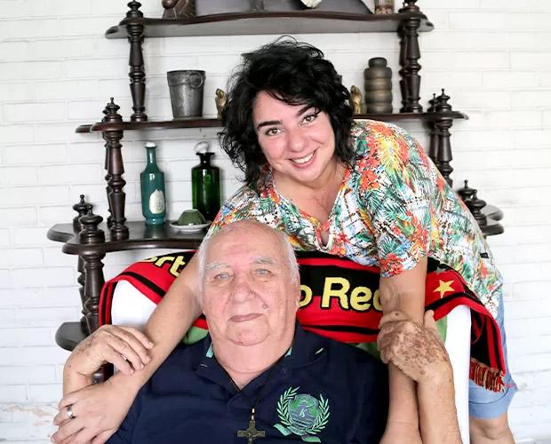A pernambucana Mariza e o pai