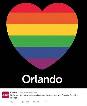 Internautas prestam homenagens às vítimas do massacre na boate Pulse, em Orlando, Flórida (EUA)