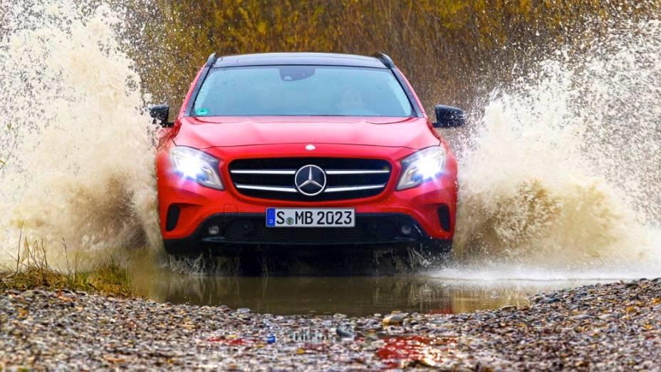 Mercedes-Benz GLA, que está chegando ao Brasil