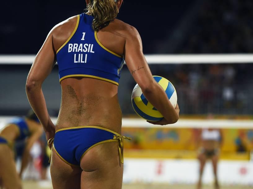 Dupla brasileira do vôlei de areia