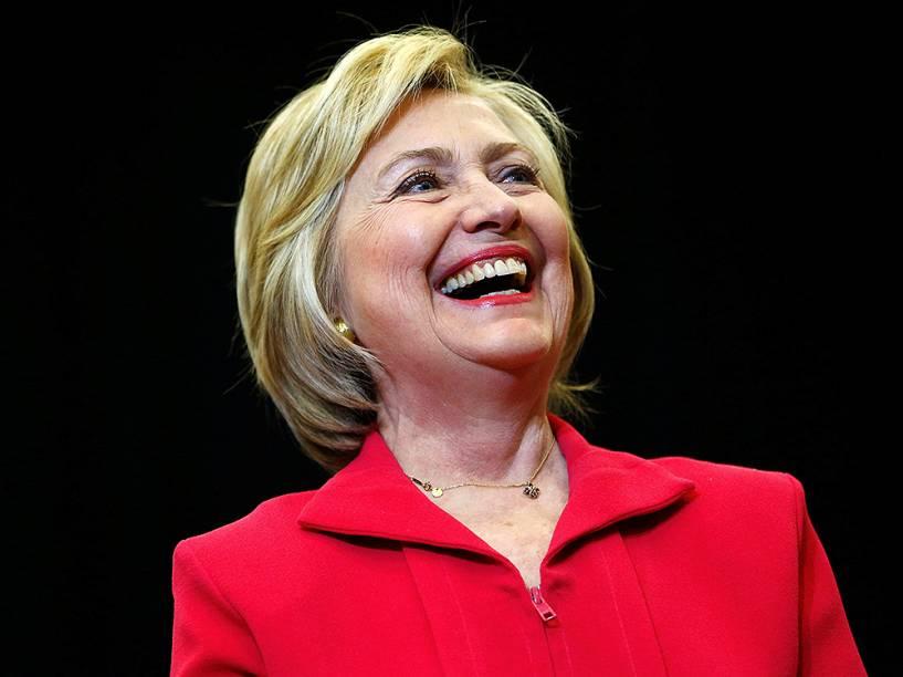 A candidata democrata à presidência dos Estados Unidos, Hillary Clinton - 16/05/2016