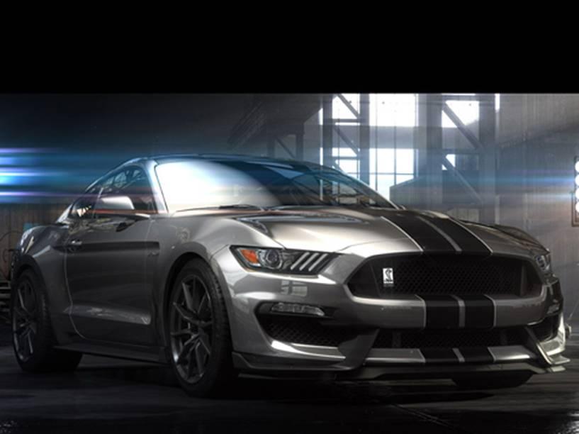 Mustang Shelby GT350: mais de 500 cv