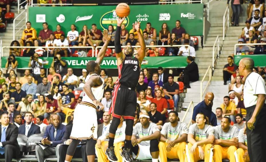 NBA Global Games no Rio de Janeiro: Cleveland Cavaliers x Miami Heat