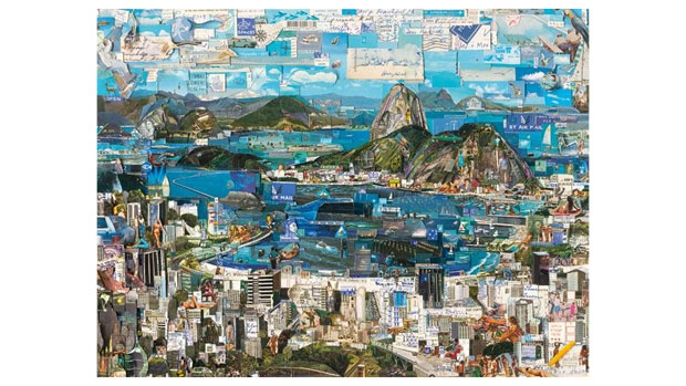 Pôster Rio de Janeiro, de Vik Muniz