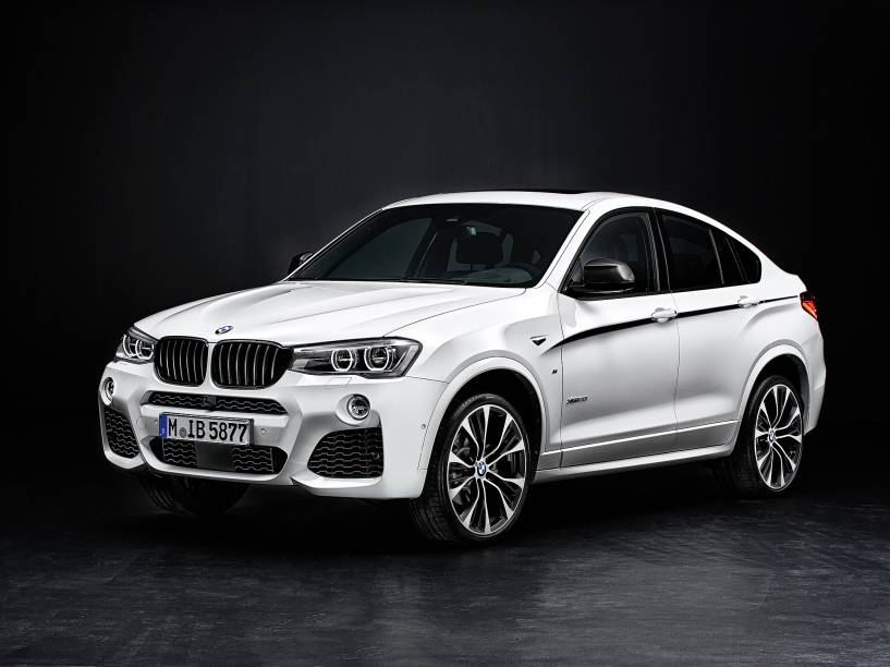 BMW X4M: motor 3.0 seis cilindros em linha de 306 cv