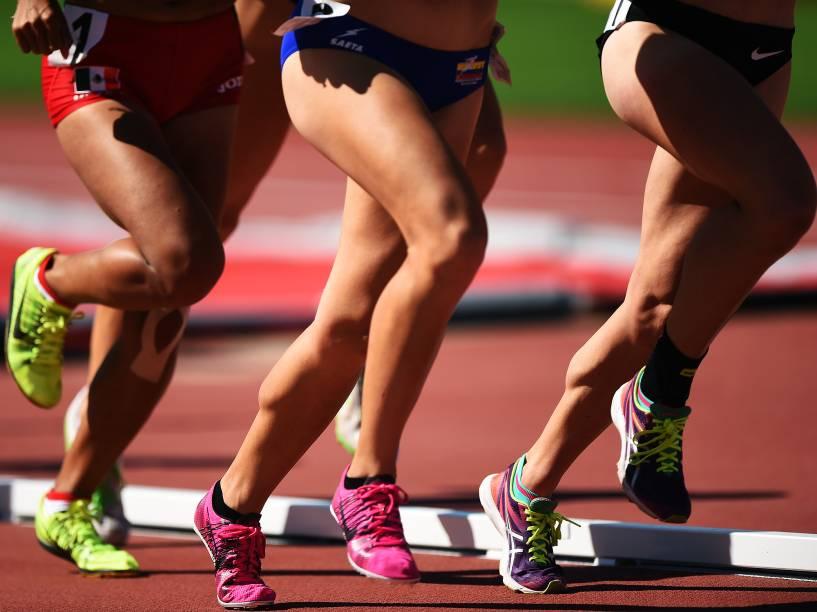 Competição de atletismo durante os Jogos Pan-Americanos 2015, em Toronto, Canadá