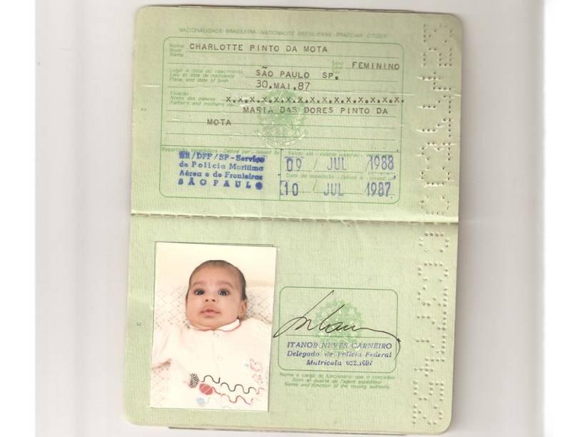 Carteira de identidade de Charlotte