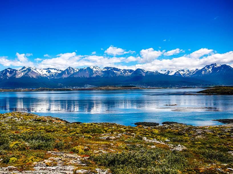Navegação pelo Canal de Beagle na região de Ushuaia, Argentina<br><br>