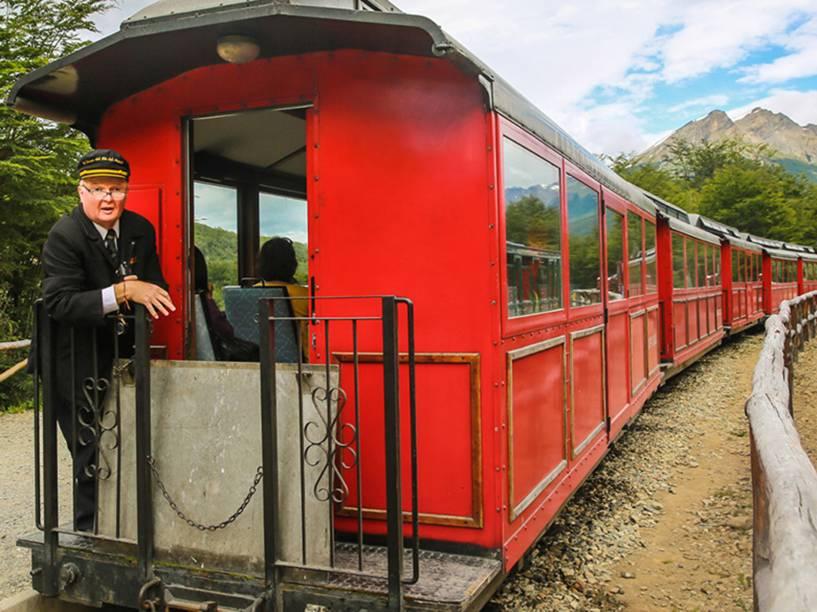 Passeio turístico no Trem do Fim do Mundo<br><br>