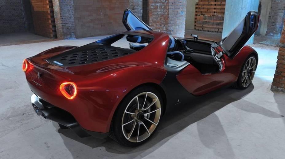 Pininfarina Sergio, parceria do estúdio de design com a Ferrari