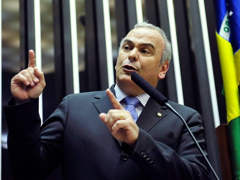 Candidato à presidência da Câmara, o deputado Júlio Delgado
