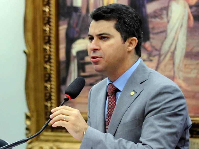 Marcos Rogério (DEM-RO) durante o reunião do Conselho de Ética que discute o parecer do presidente afastado da Câmara, Eduardo Cunha - 01/06/2016