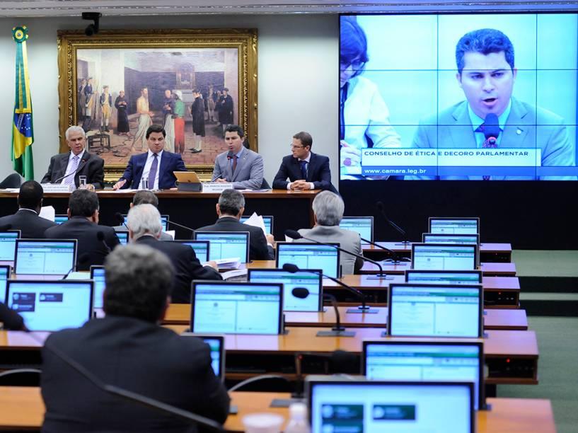 Reunião do Conselho de Ética discute o parecer do presidente afastado da Câmara, Eduardo Cunha - 01/06/2016