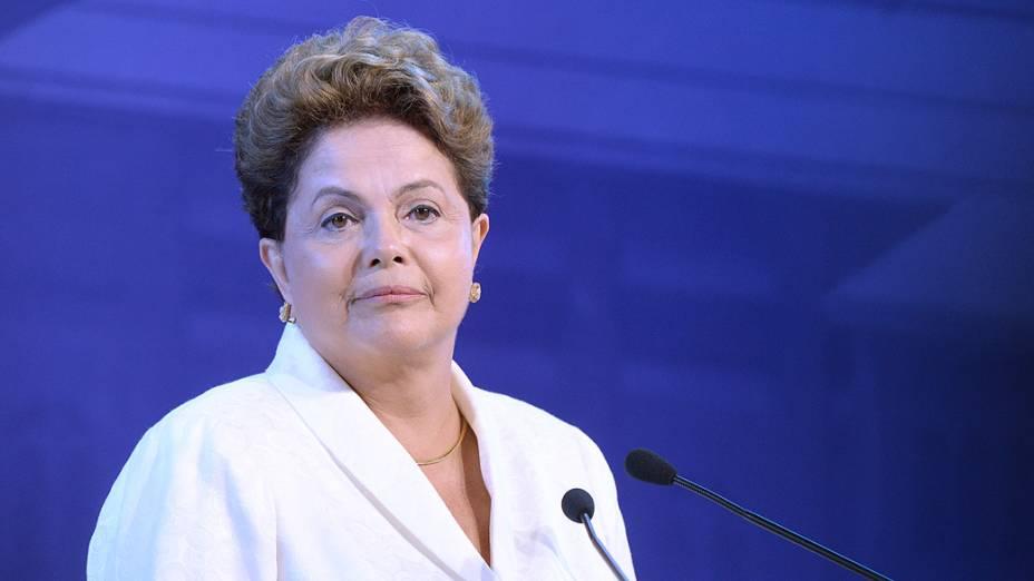 Dilma: branco para o debate