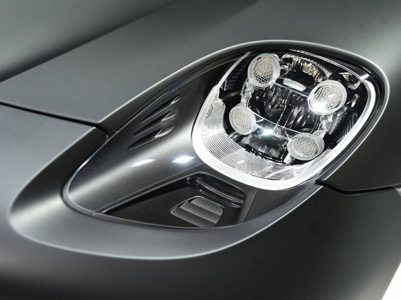 Detalhe do Porsche 918 Spyder